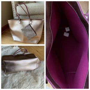 NWT Bath & Body Works tote bag with coin purse